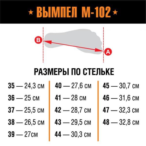 Берцы Вымпел М-102