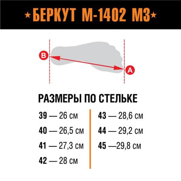 Берцы Скат М-1402 М3