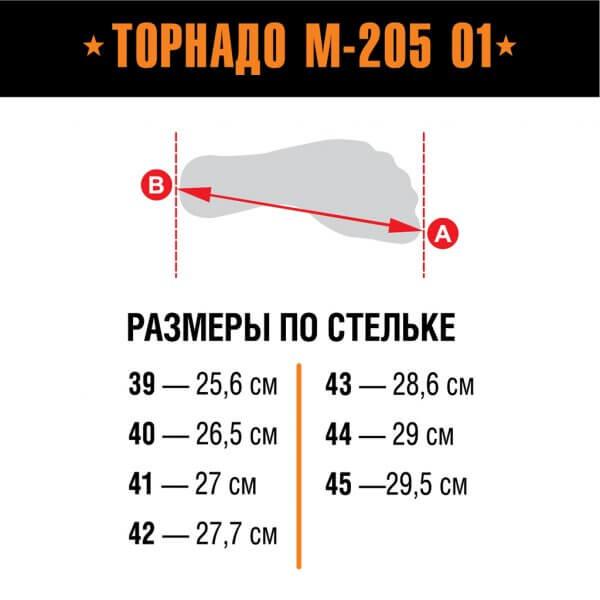 Берцы Торнадо М-205 О1