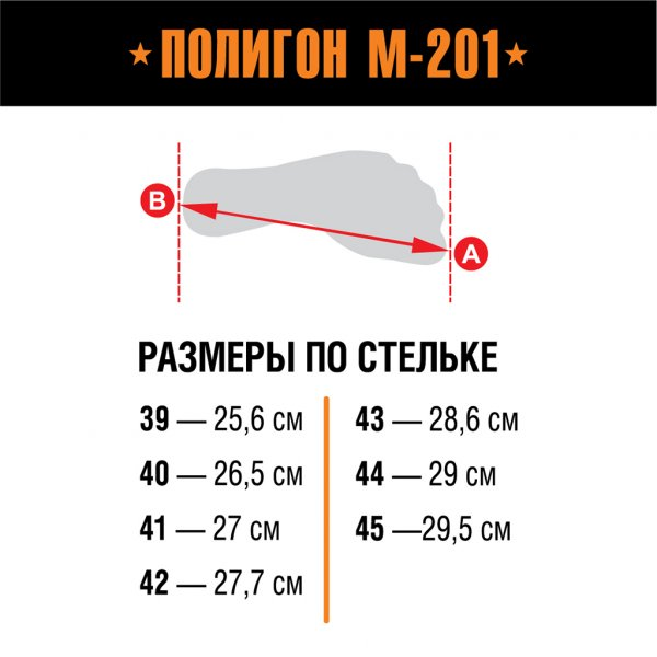 Берцы Полигон М-201