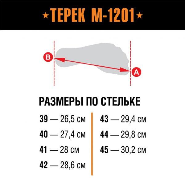 Берцы Терек М-1201