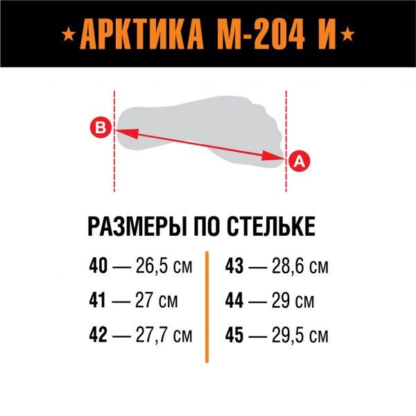 Берцы Арктика М-204 И